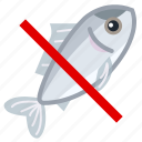 allergen, allergy, fish, fishing, food, gastronomy, yumminky icon