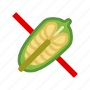 allergen, allergy, food, gastronomy, seeds, sesame, yumminky icon