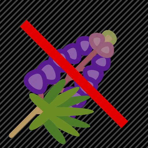 allergen, allergy, food, gastronomy, lupine, plant, yumminky icon