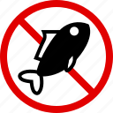 allergen, allergy, cooking, fish, food, meat, yumminky icon