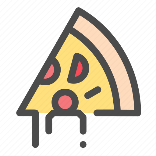 cheese, food, mozarella, pizza, slice icon