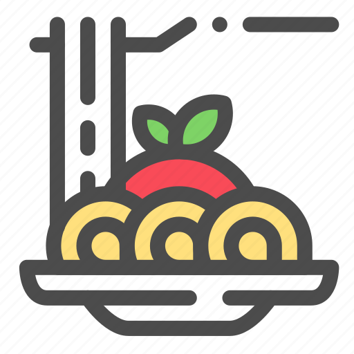 Food, italia, noodle, spaghetti icon - Download on Iconfinder