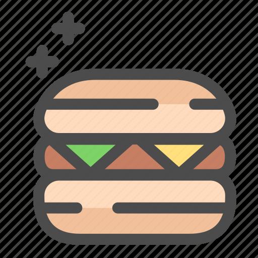 Beef, fast food, food, hamburger icon - Download on Iconfinder