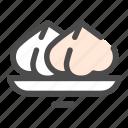 dim sum, dumpling, food