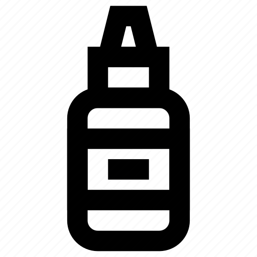 bottle, container, food, ketchup, meal, mustard, sauce icon