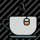 tea, drink, hot, cup, beverage