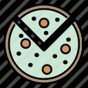 pizza, italian food, food