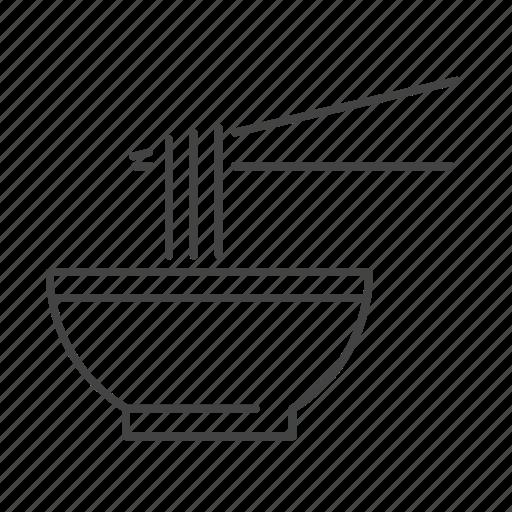 Bowl, food, noodle, soup icon - Download on Iconfinder