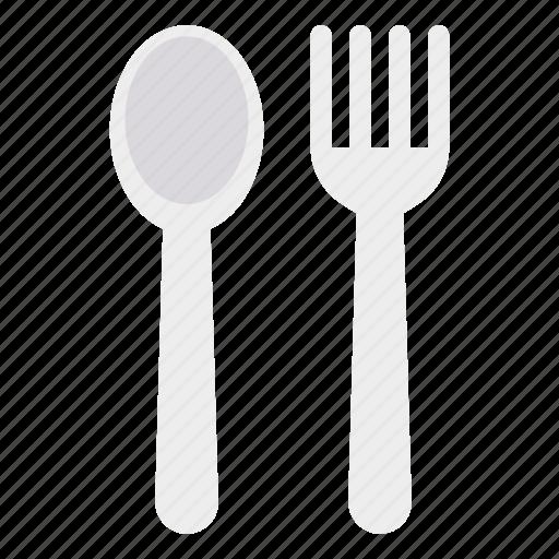 fork, kitchen, spoon, utensils icon