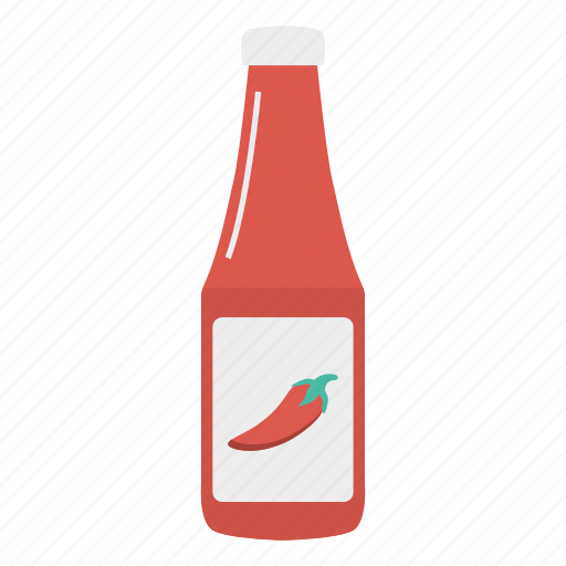 chilli, ketchup, mustard, sauce icon