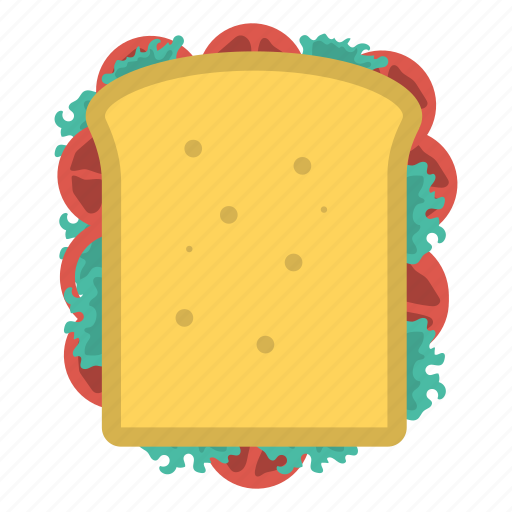 Bread, food, slice, sweet icon - Download on Iconfinder