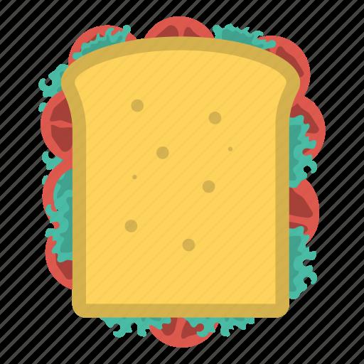 bread, food, slice, sweet icon