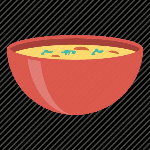 bowl, eat, food, soup icon