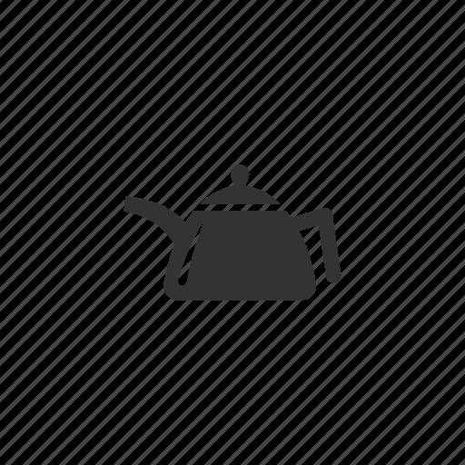 hot, kettle, metal, pour, tea, teapot icon