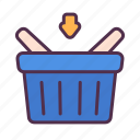 add, basket, buy, cart, online, order, shopping icon