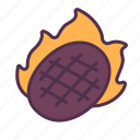 food, roast, grill, meat, meal, protein, beef icon