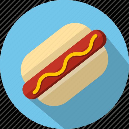 dog, fast food, hot icon