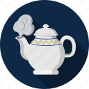 coffee, hot, kettle, tea, warm icon