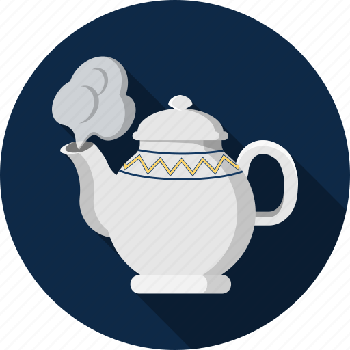 coffee, hot, kettle, tea, warm icon