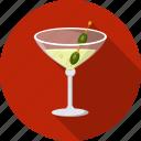 alcohol, cocktail, glass, martini icon