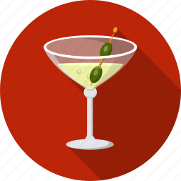alcohol, cocktail, glass, martini icon