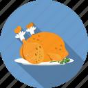 chicken, food, roast icon