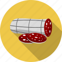 food, salami, sausage icon