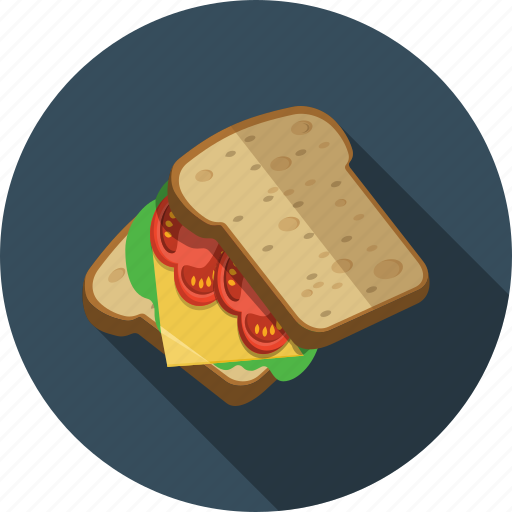 breakfast, sandwich icon