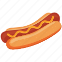 eat, food, hotdog, meal icon