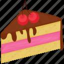 cake, chocolate cake, dessert, sweet