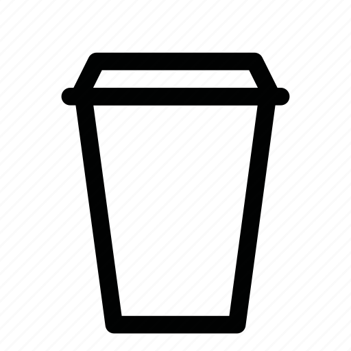 americano, coffee, cup, drink, espresso, paper, to go icon