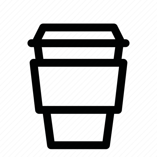 cappuccino, coffee, cup, drink, latte, paper icon