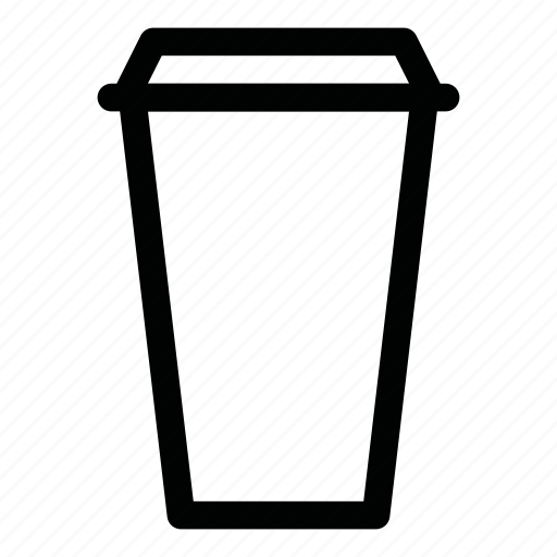 coffee, cup, drink, paper, to go icon