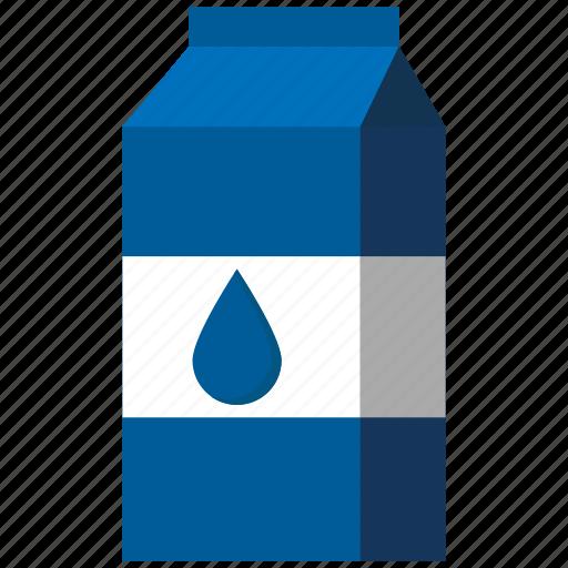 beverage, carton, drink, food, milk, milk bottle, milk pack icon