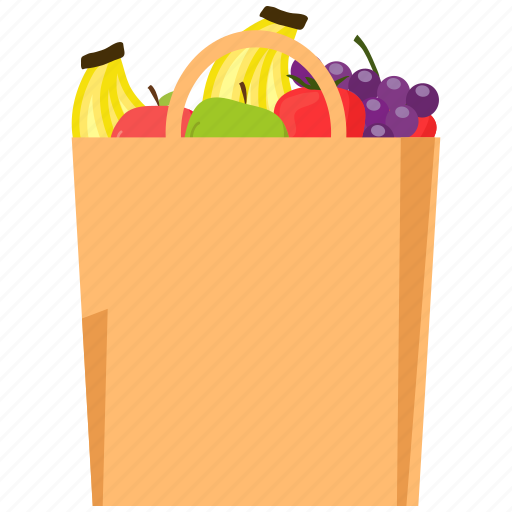 bag, food, fruit, healthy, season icon