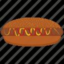 dog, hot, hot dog icon