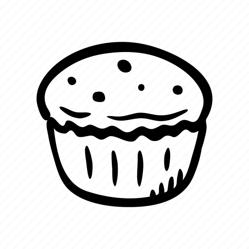 bakery, breakfast, cupcake, food, pastry, snack, sweet icon