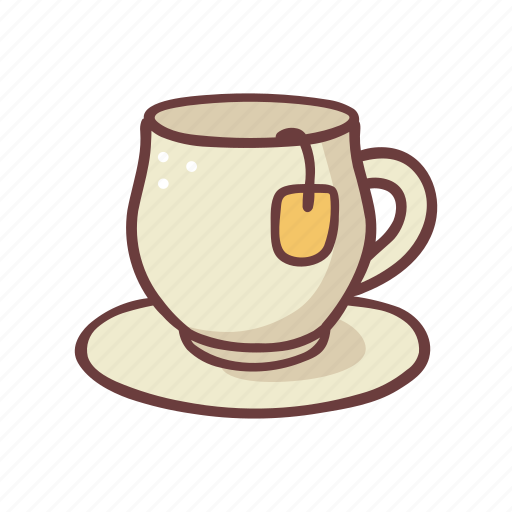 Breakfast, cafe, cup, drink, food, hot, tea icon - Download on Iconfinder