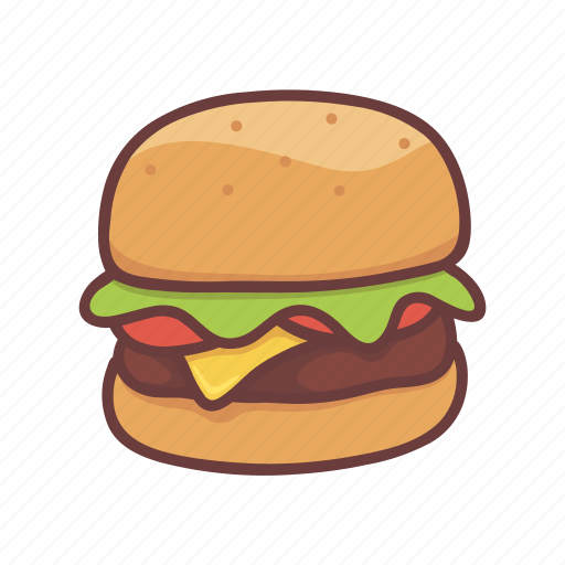Burger, cheese, cooking, fastfood, food, hamburger, restaurant icon - Download on Iconfinder