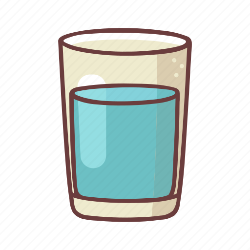 Aqua, drink, food, glass, healthy, soda, water icon - Download on Iconfinder