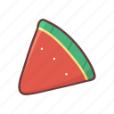 watermelon, healthy, slice, organic, summer, vegan, fruit