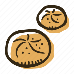 bakery, breakfast, bun, food, pastry, snack icon