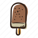 beach, desser, ice cream, ice cream bar, summer, sweet icon