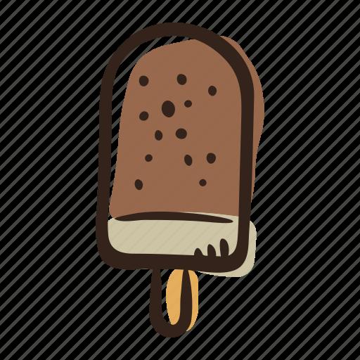 beach, desser, ice cream, ice cream bar, summer, sweet icon