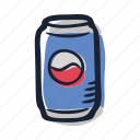 beach, cola, drink, lemonade, lunch, party, summer icon