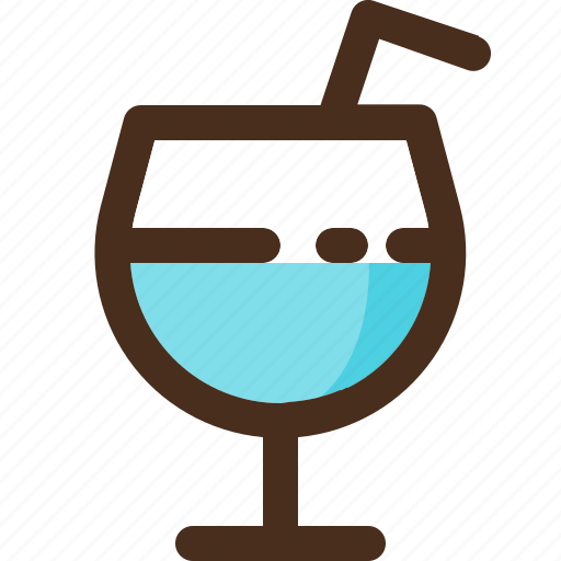 beverage, drink, glass, juice icon