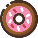 cake, donuts, doughnut, food icon