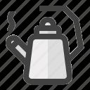 beverages, drink, food, kettle, tea, teapot icon