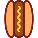 dog, drink, food, hot, hungry, meal, water icon