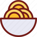 drink, food, hungry, meal, spaghetti, water icon